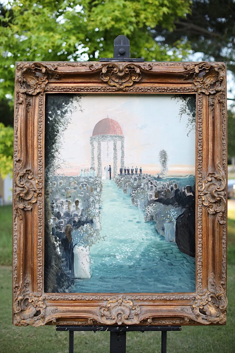 live wedding painter in san diego and los angeles