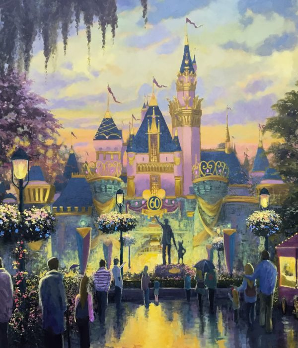 Evening At Sleeping Beauty Castle